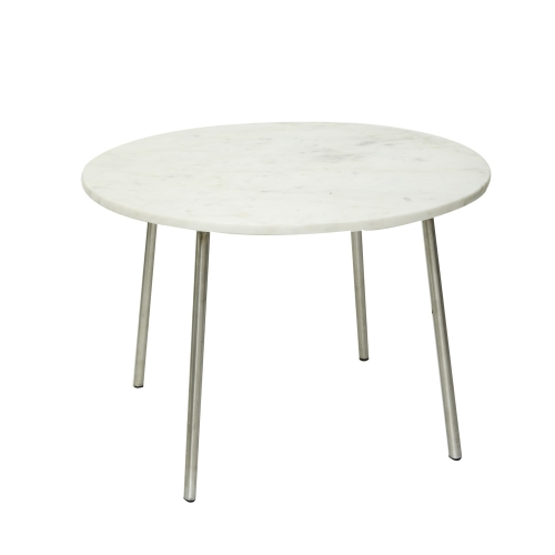Round Table Marble (Pure White / Large)