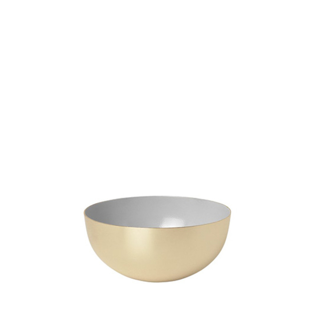 Metal Bowl Enamel (Gray)