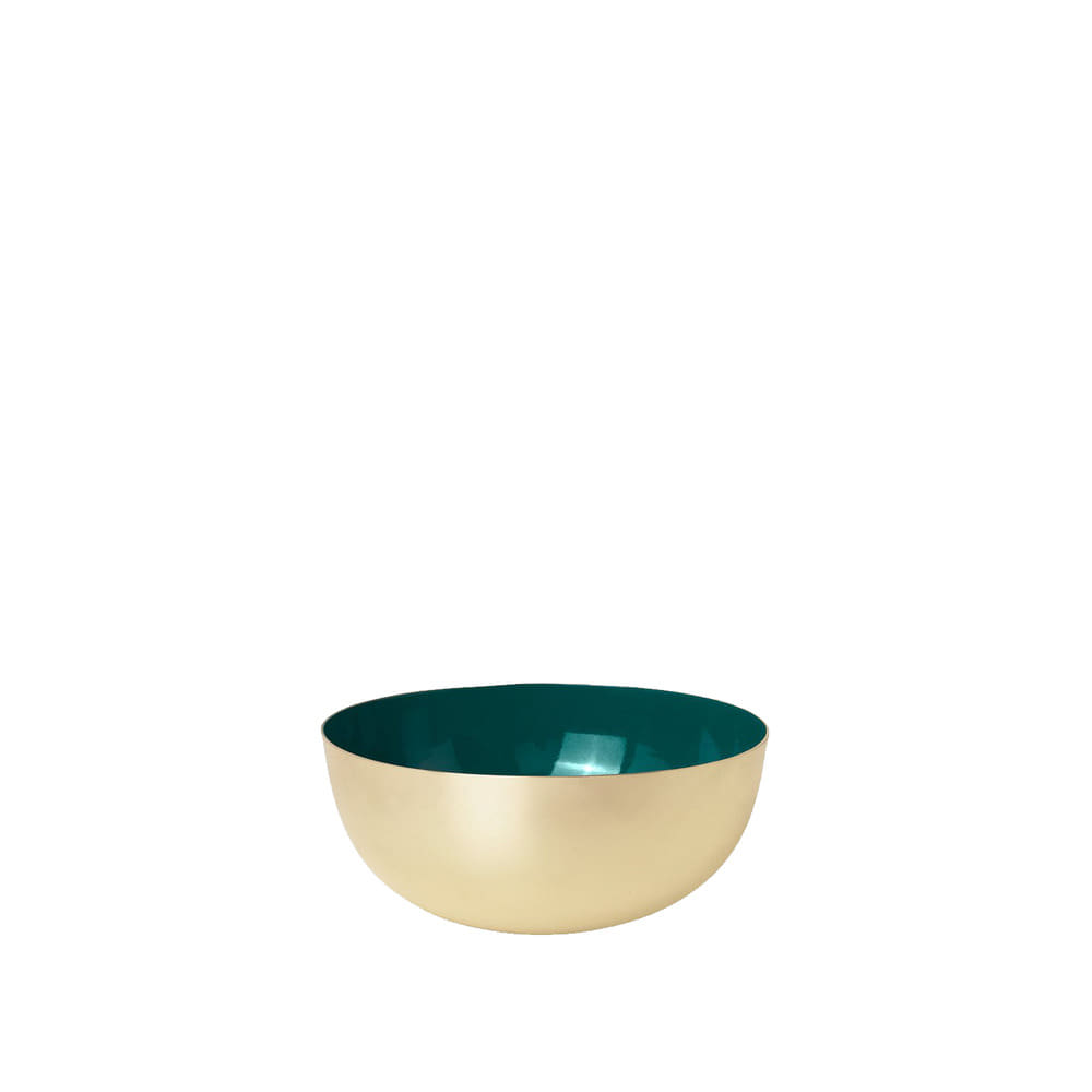 Metal Bowl Enamel (Green)