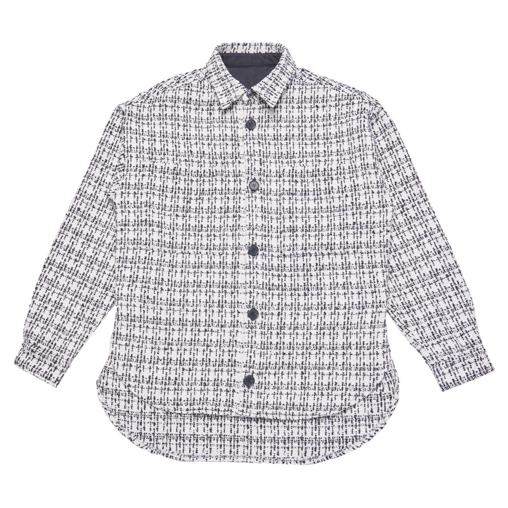 Tweed Shirt Jacket