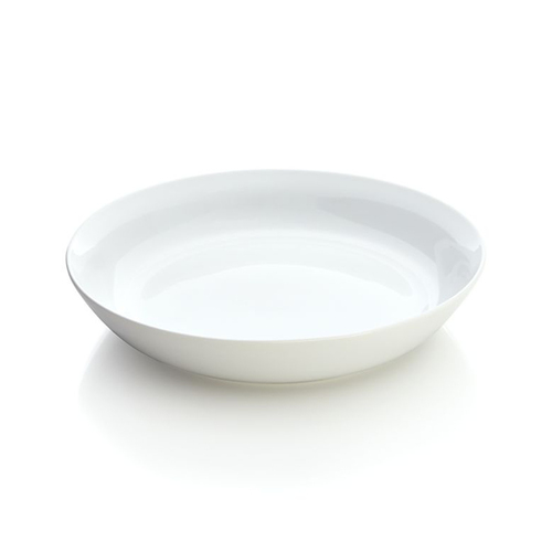 Hue Low Bowl White