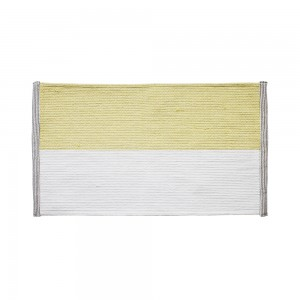 ColorBlock Bath Mat (Yellow)