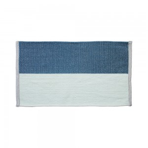 ColorBlock Bath Mat (Blue)