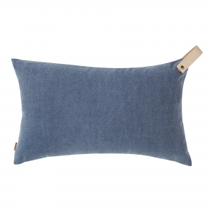 Washed Oxford Cushion Strap (30x50 / Blue)