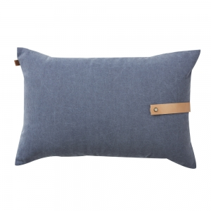 Washed Oxford Cushion Strap (40x60 / Light Grey)
