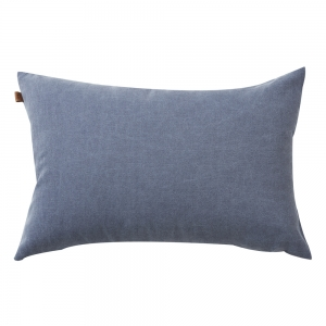 Washed Oxford Cushion (30x50 / Blue)