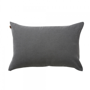 Washed Oxford Cushion (40x60 / Grey)