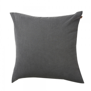 Washed Oxford Cushion (60x60 / Blue)