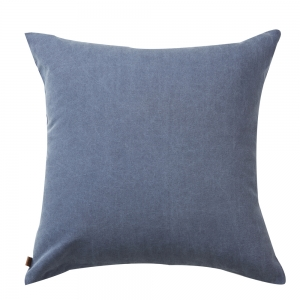 Washed Oxford Cushion (50x50 / Light Blue)