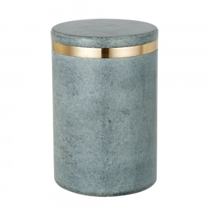 Canister Ring (Light grey / Copper Finish / Large)