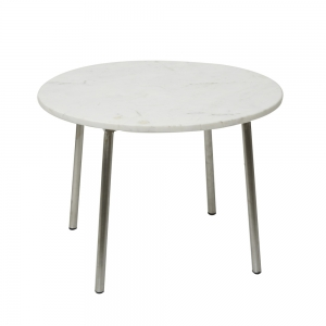 Round Table Marble (Pure White / Small)