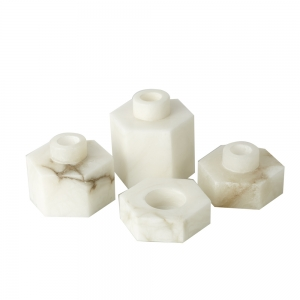 Candle Stand Eleanor (White)