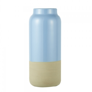 Vase Raw (Dusk Blue / Large)