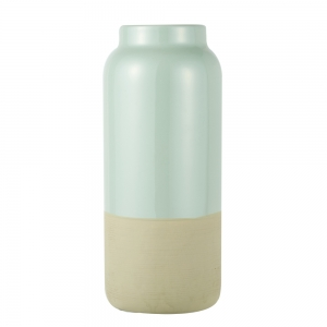 Vase Raw (Frosty Green / Large)