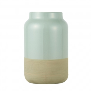 Vase Raw (Frosty Green / Small)