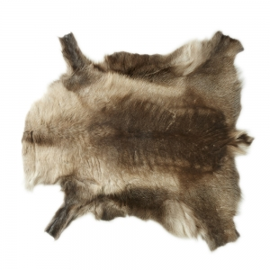 Finnish Reindeer Hides (Dark brown)
