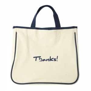 Canvas Thanks Bag