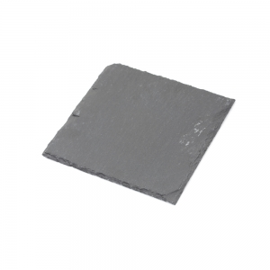 Candle Plate Square Slate (Large)