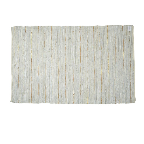 Rug Hugh (Light Grey / Copper / Large)