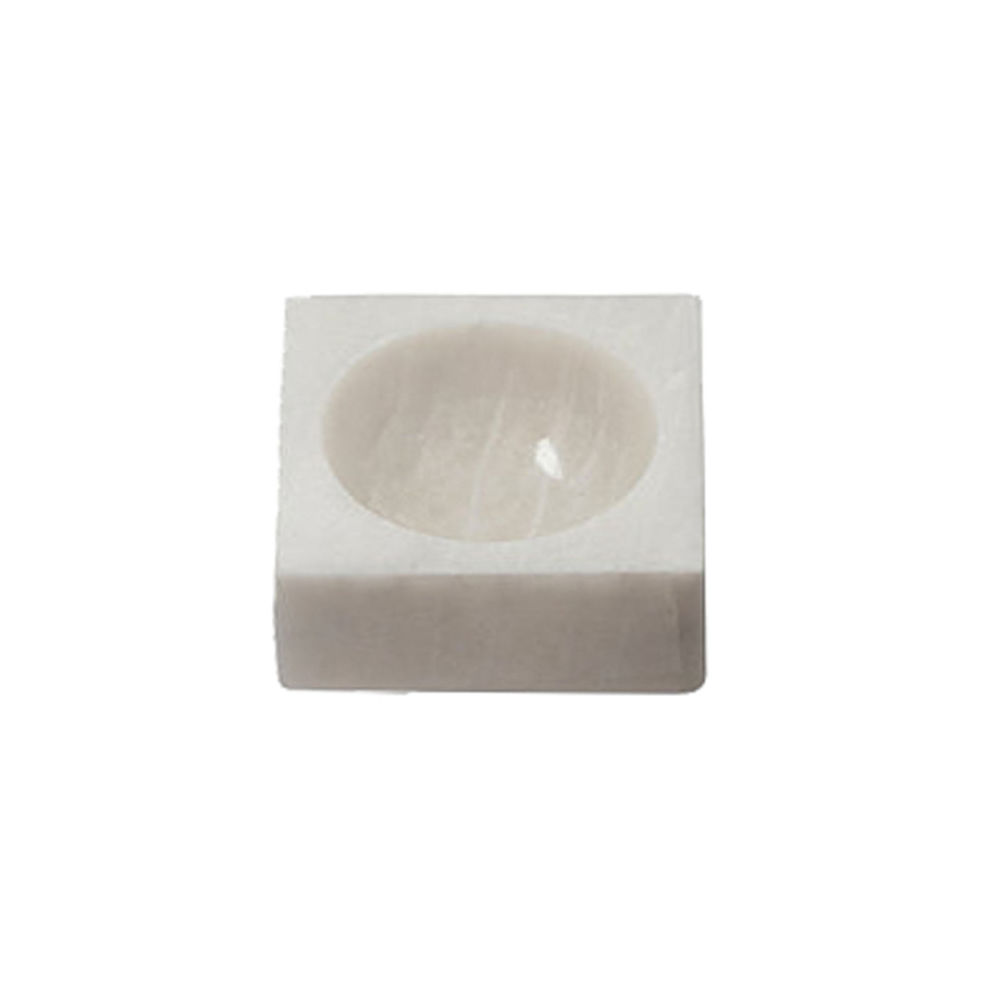 Stone Marble Block Bowl