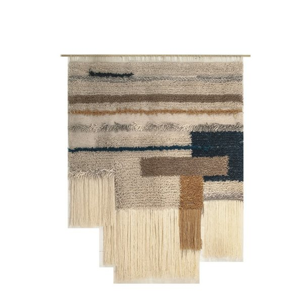 Fivecomma - Natural Walltapestry Rug