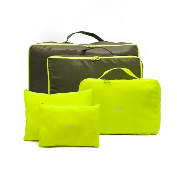 Neon Travel Pouch - Neon Yellow