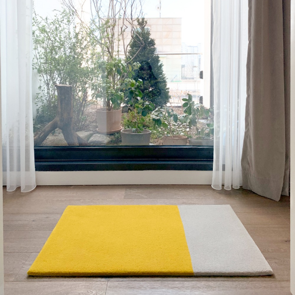Two Tone Entry Rug