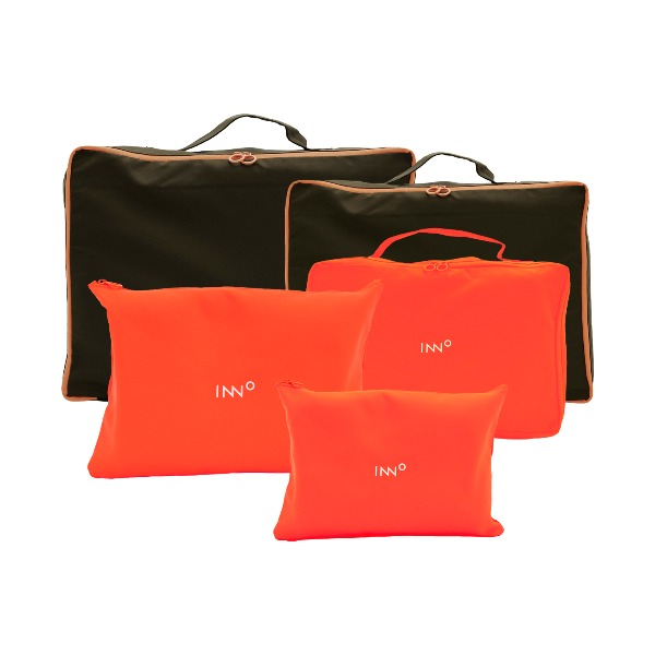 Neon Travel Pouch - Orange