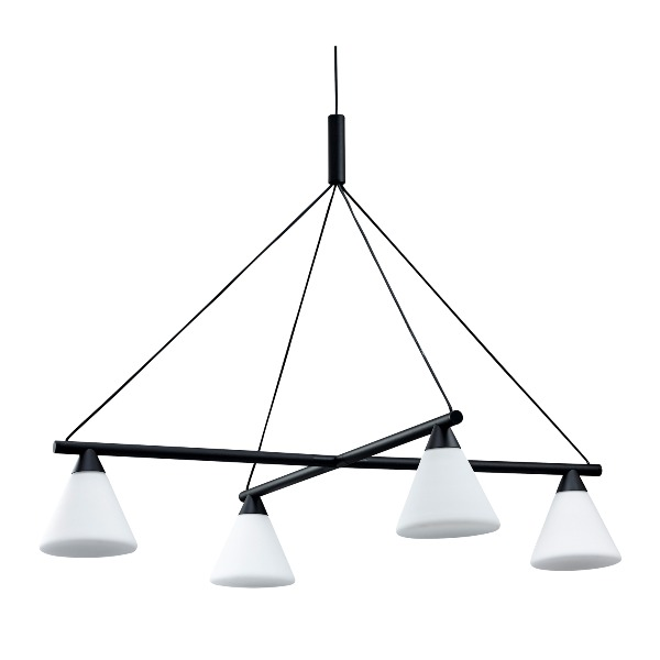 AGO Lighting - PROBE Chandelier Glass