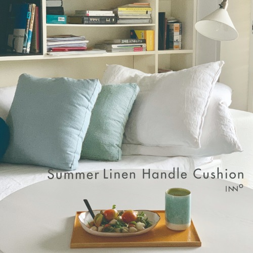 Summer Linen Handle Cushion