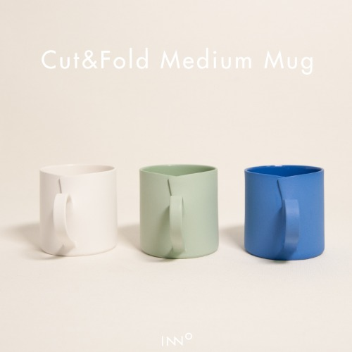 이보미작가 - Cut&Fold Medium Mug