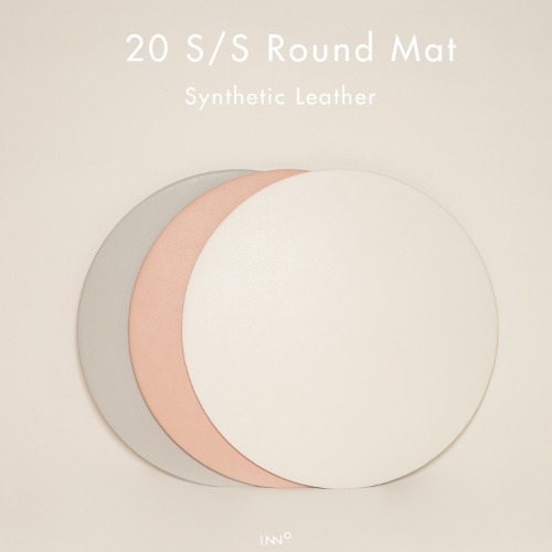 20 S/S INNO Leather Round Mat