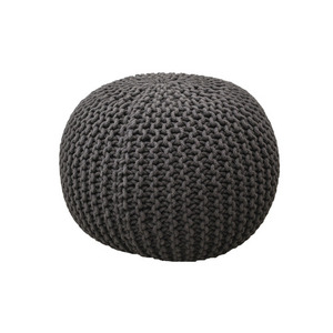 Knit Stool Gray