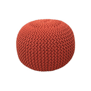 Knit Stool Red