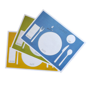 Colorful Place Paper Mat