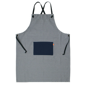 Stripe Long Apron