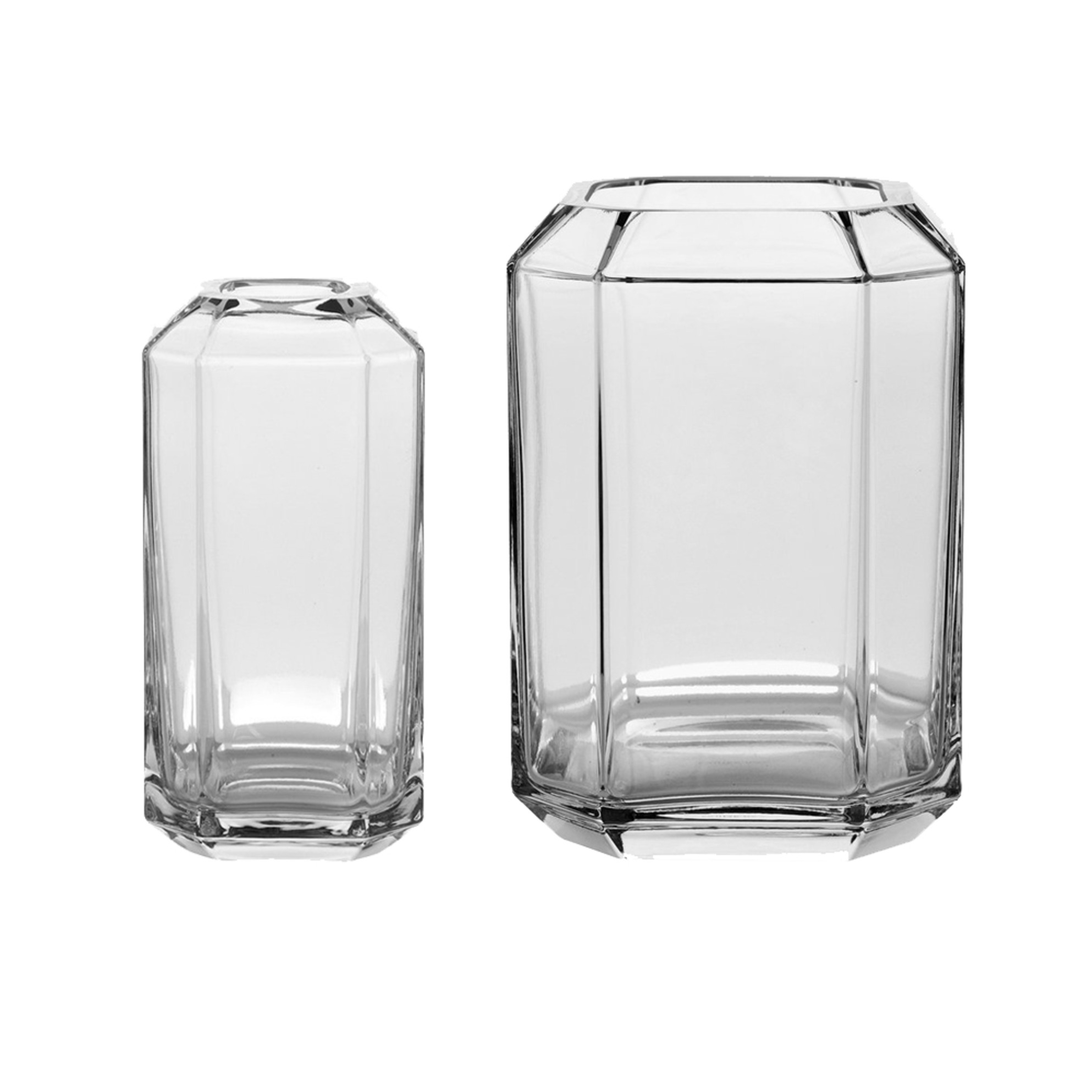 Jewel Vase (Clear)