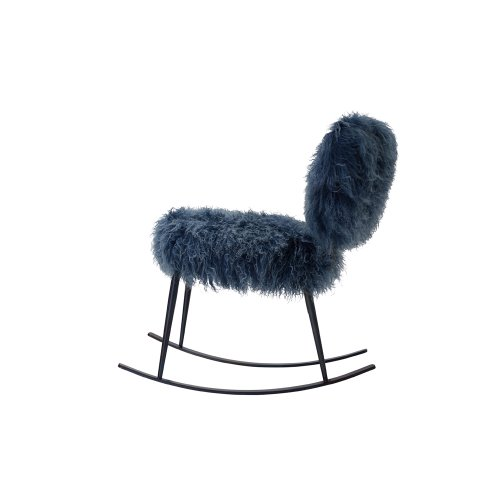 Nuvola Rocking Chair Blue