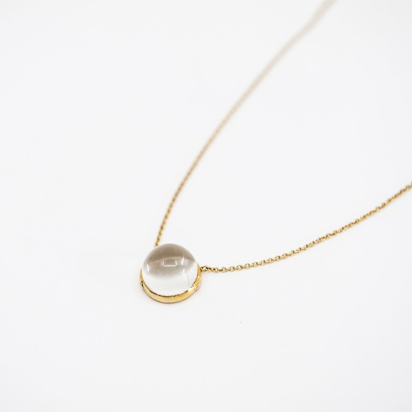 수정 Quartz Necklace - Jiye Shin