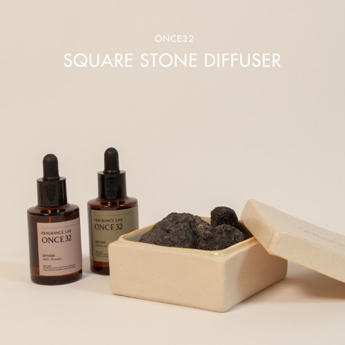 ONCE32 - SQUARE STONE DIFFUSER