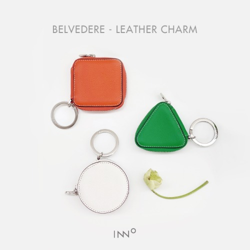 BELVEDERE - Leather charm