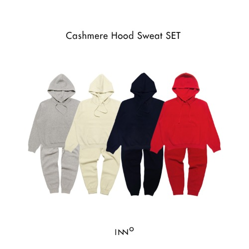 Cashmere Hood Sweat SET