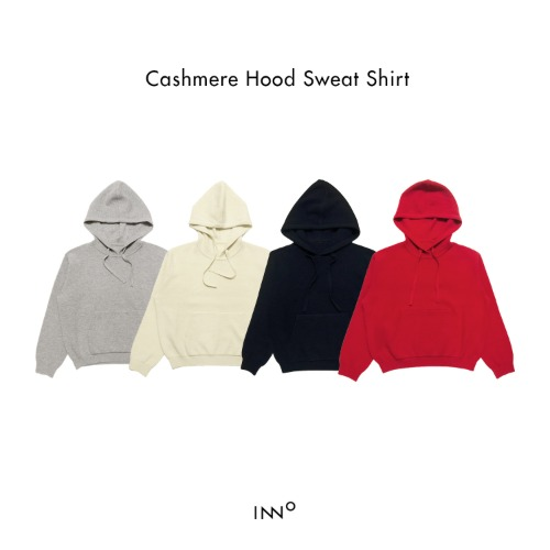 Cashmere Hood Sweat Shirt