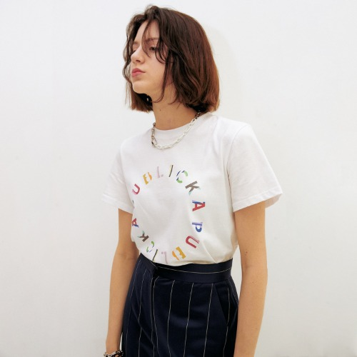 PUBLICKA X - MULTI COLOR LOGO T-SHIRT